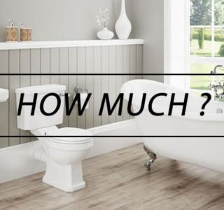 Ποιο Είναι Σήμερα το Κόστος Ανακαίνισης Μπάνιου ;